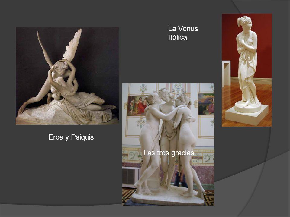 La Venus Itálica Eros y Psiquis Las tres gracias
