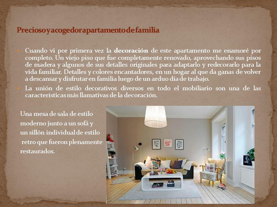 Precioso y acogedor apartamento de familia