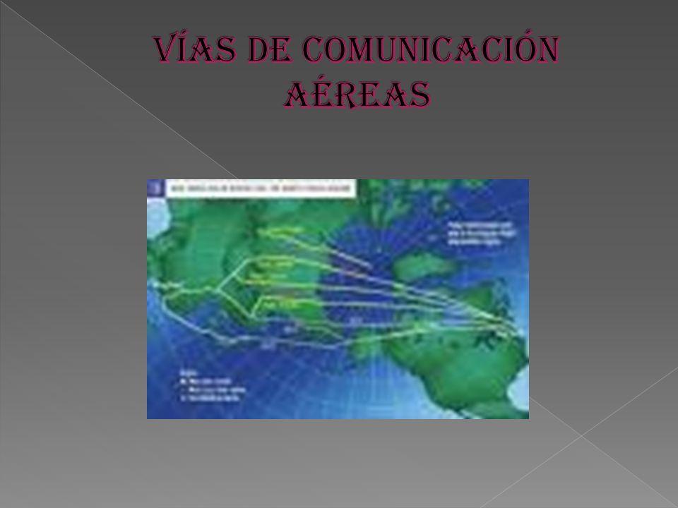 VÍAS DE COMUNICACIÓN AÉREAS