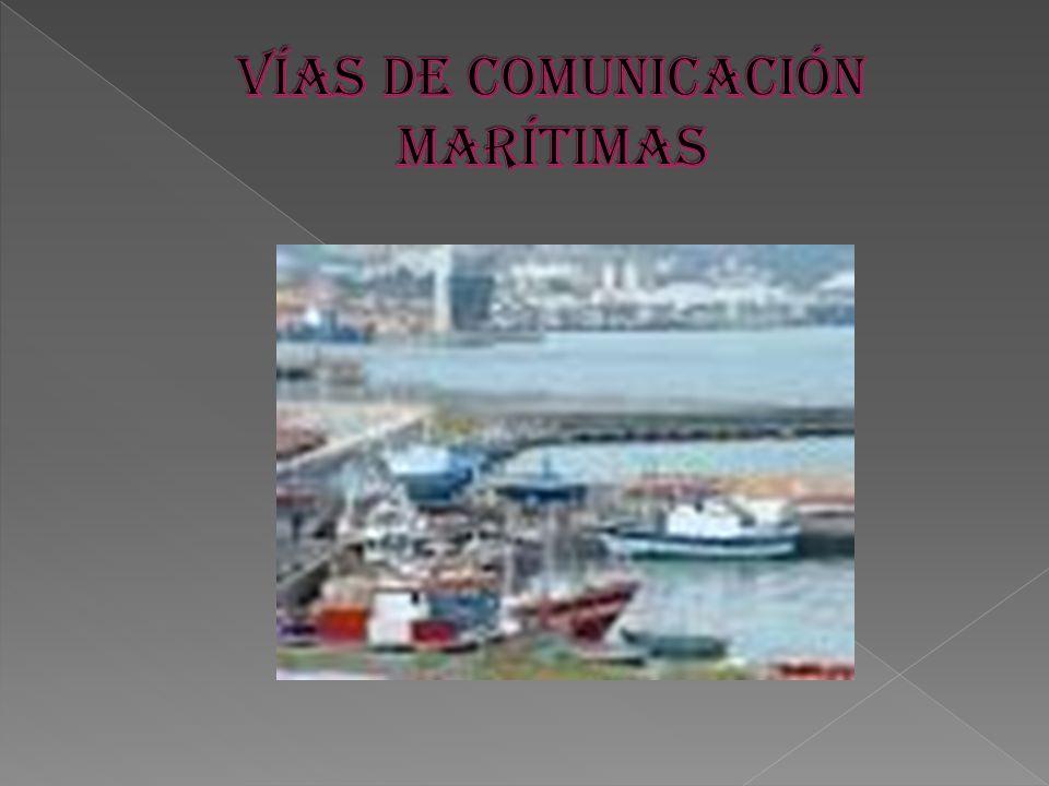 VÍAS DE COMUNICACIÓN MARÍTIMAS