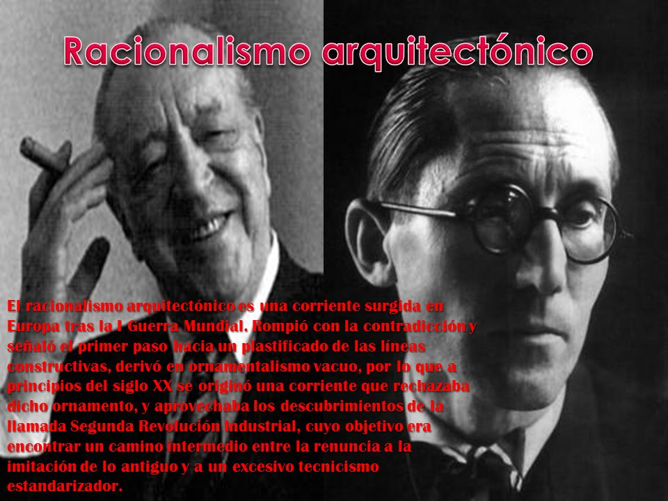 Racionalismo arquitectónico