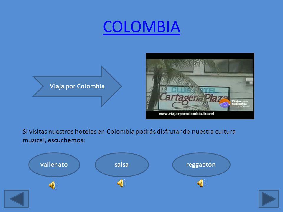 COLOMBIA Viaja por Colombia