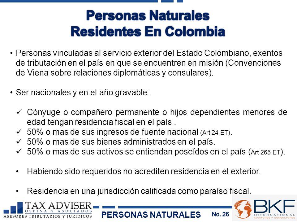 Residentes En Colombia