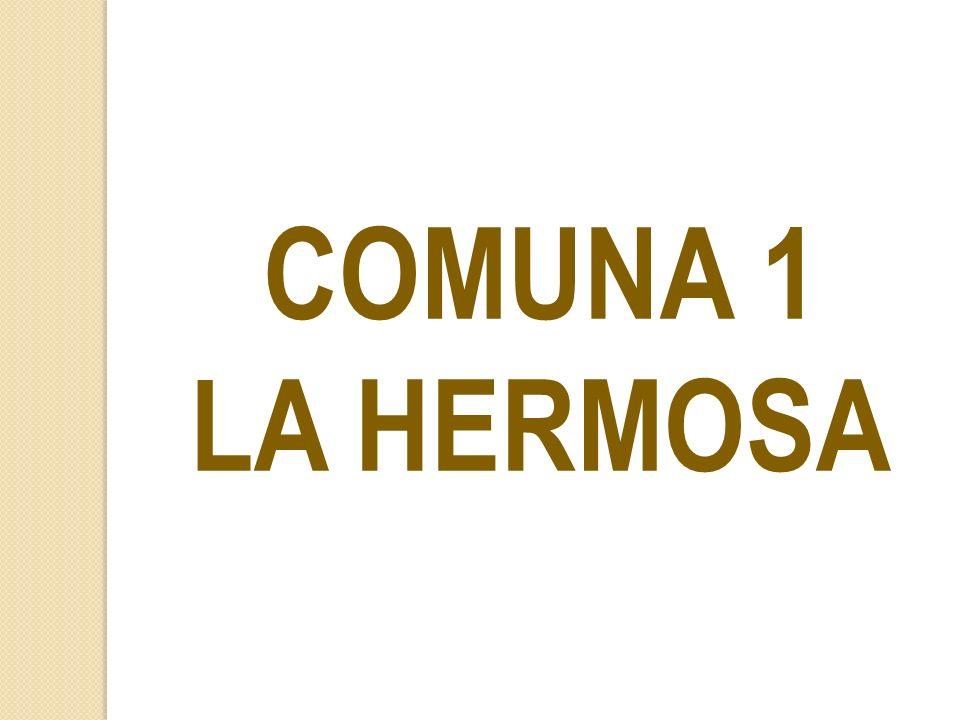 COMUNA 1 LA HERMOSA