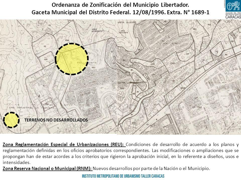 Ordenanza de Zonificación del Municipio Libertador