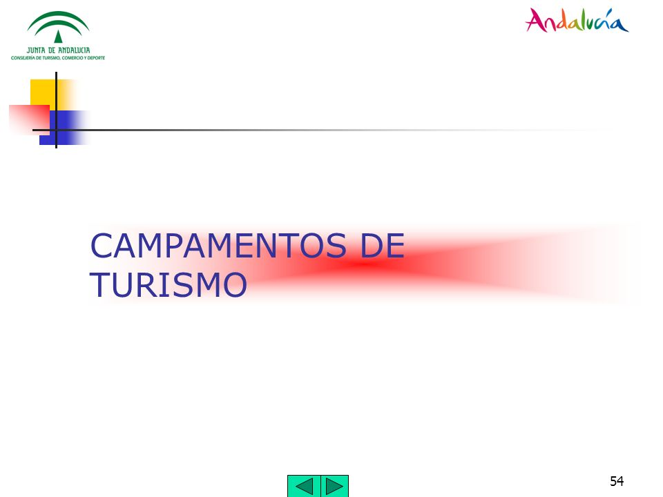 CAMPAMENTOS DE TURISMO