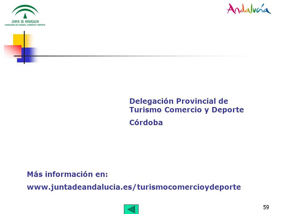 Delegación Provincial de Turismo Comercio y Deporte