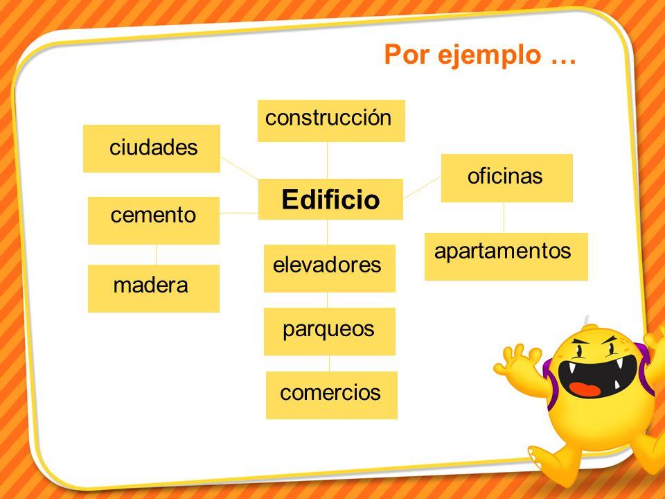Por ejemplo … Edificio construcción ciudades oficinas cemento