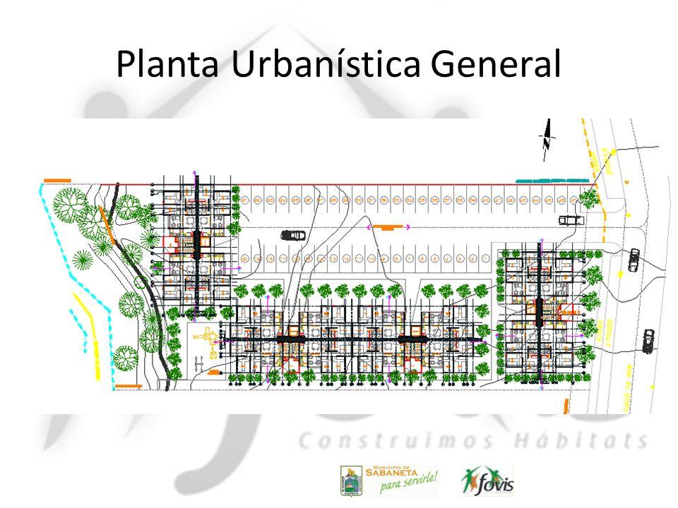 Planta Urbanística General