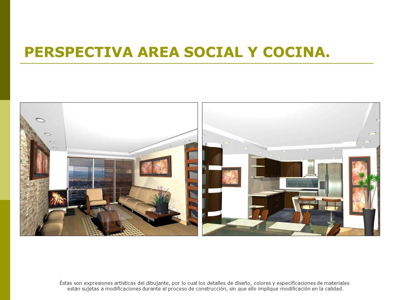 PERSPECTIVA AREA SOCIAL Y COCINA.