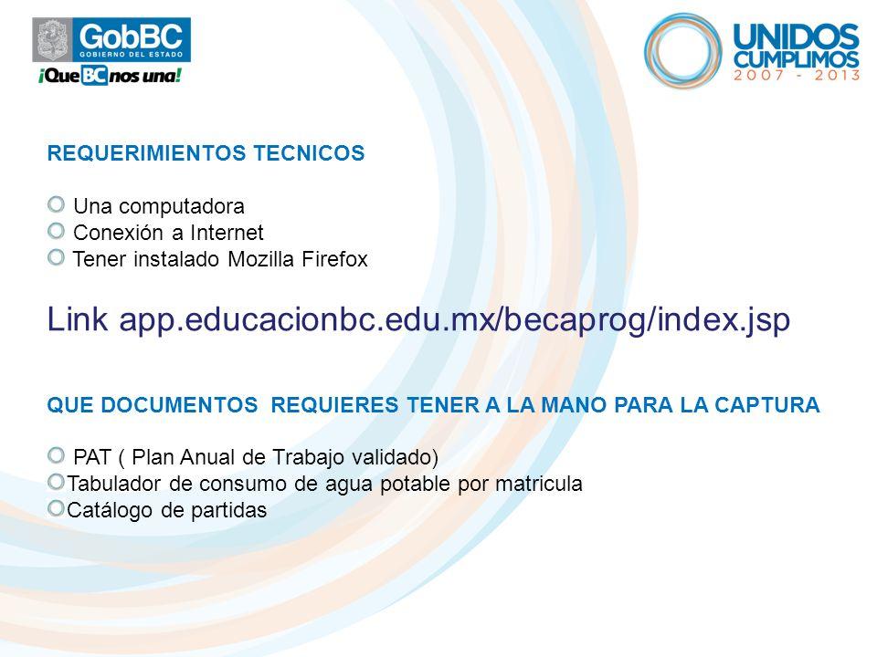 Link app.educacionbc.edu.mx/becaprog/index.jsp
