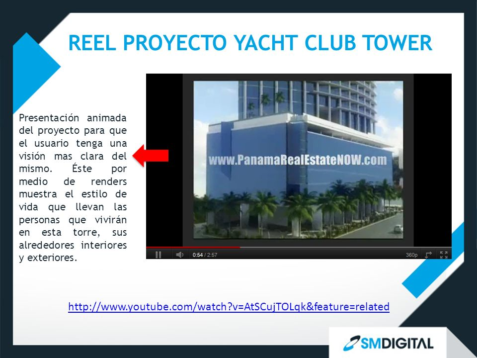 REEL PROYECTO YACHT CLUB TOWER
