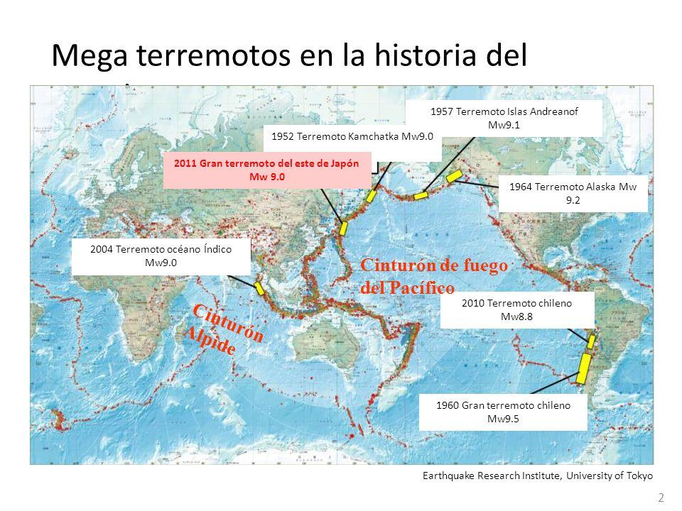 2011 Gran terremoto del este de Japón Mw 9.0