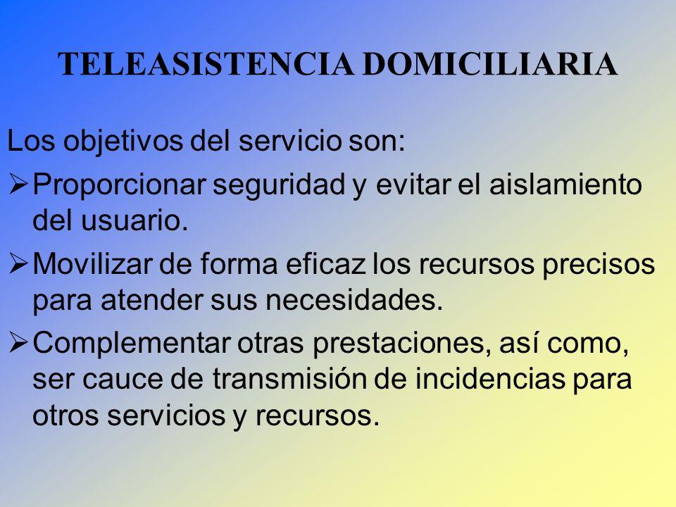 TELEASISTENCIA DOMICILIARIA