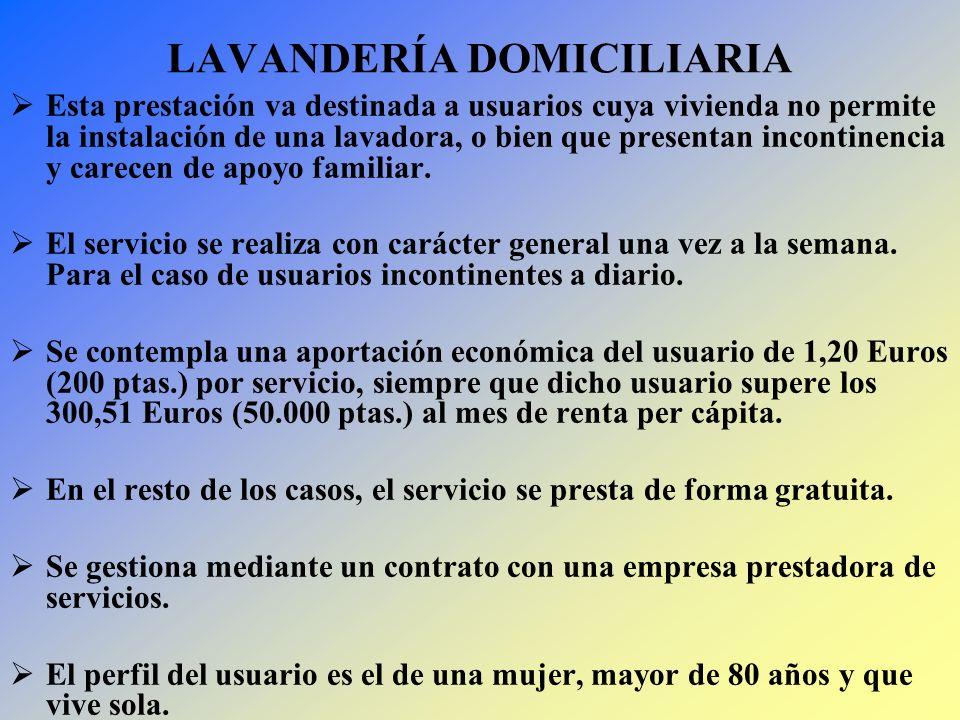 LAVANDERÍA DOMICILIARIA