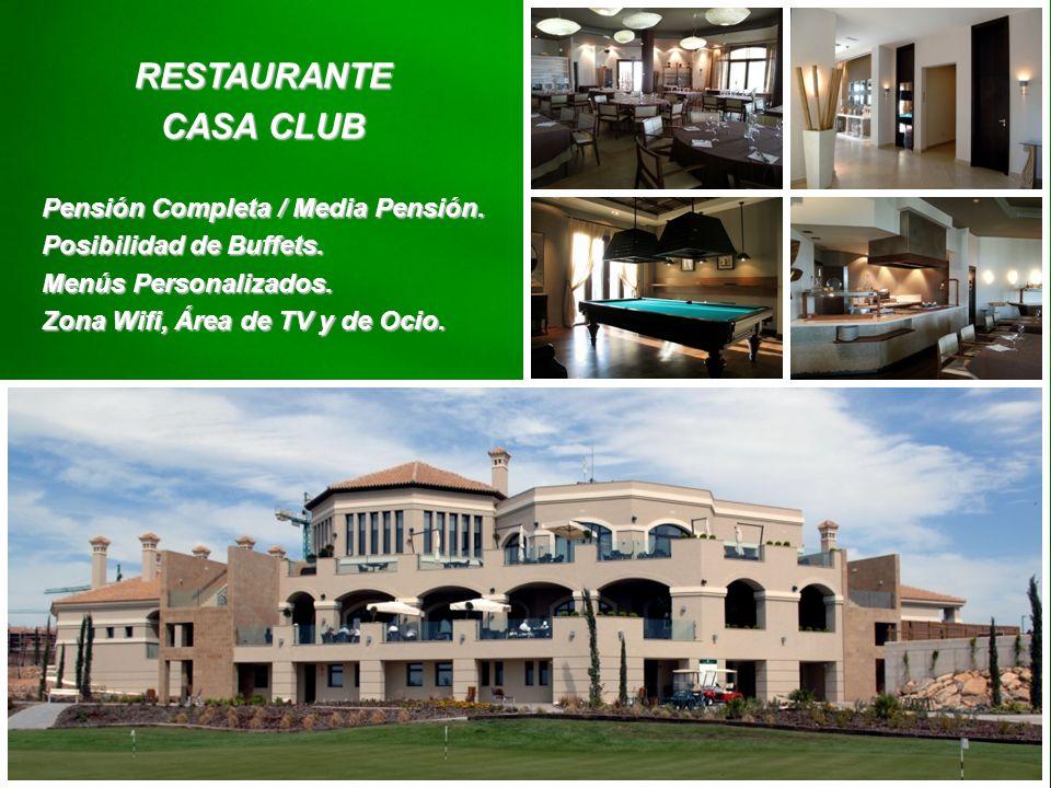 RESTAURANTE CASA CLUB Pensión Completa / Media Pensión.