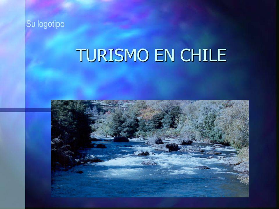 Su logotipo TURISMO EN CHILE