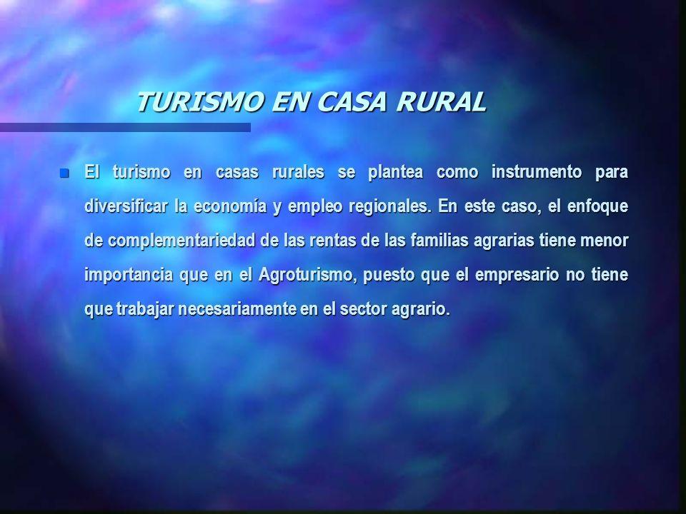 TURISMO EN CASA RURAL