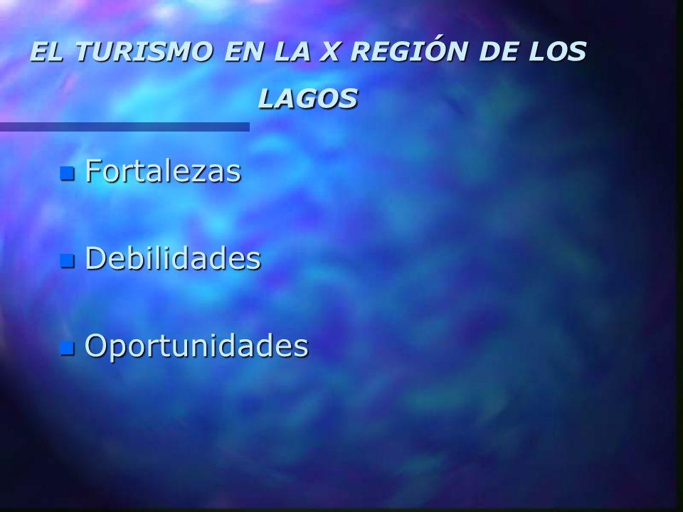 EL TURISMO EN LA X REGIÓN DE LOS LAGOS