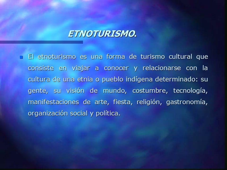 ETNOTURISMO.