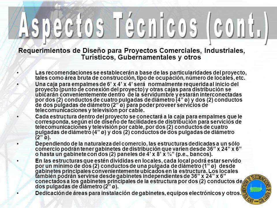 Aspectos Técnicos (cont.)