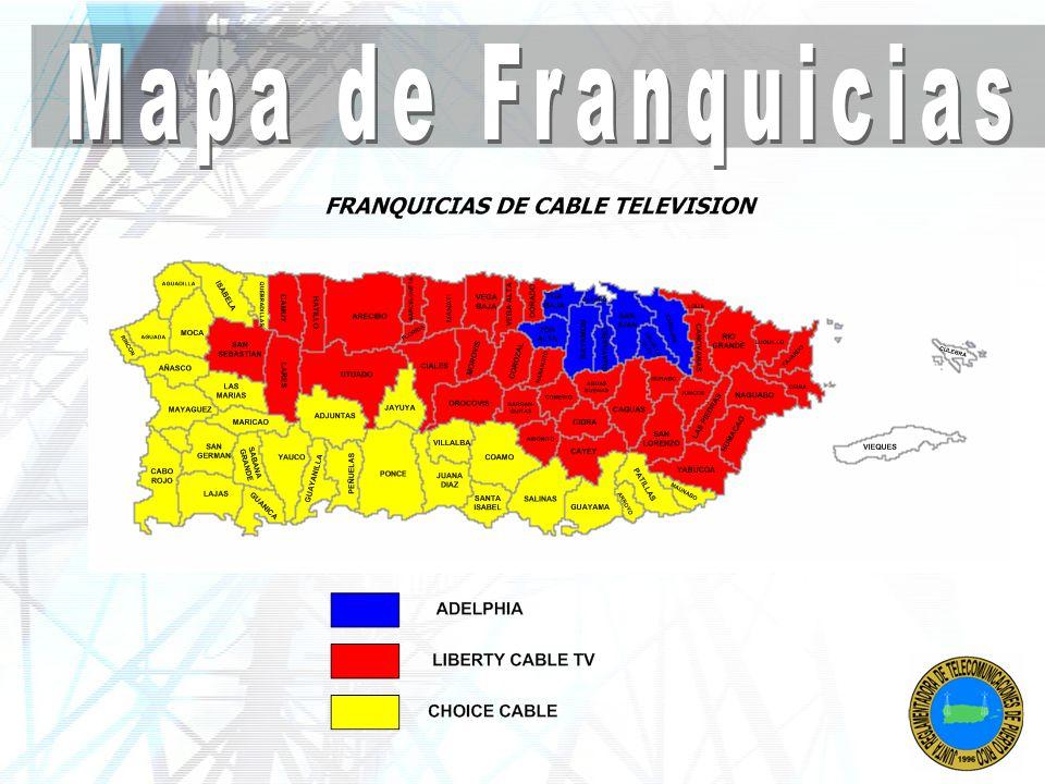 Mapa de Franquicias