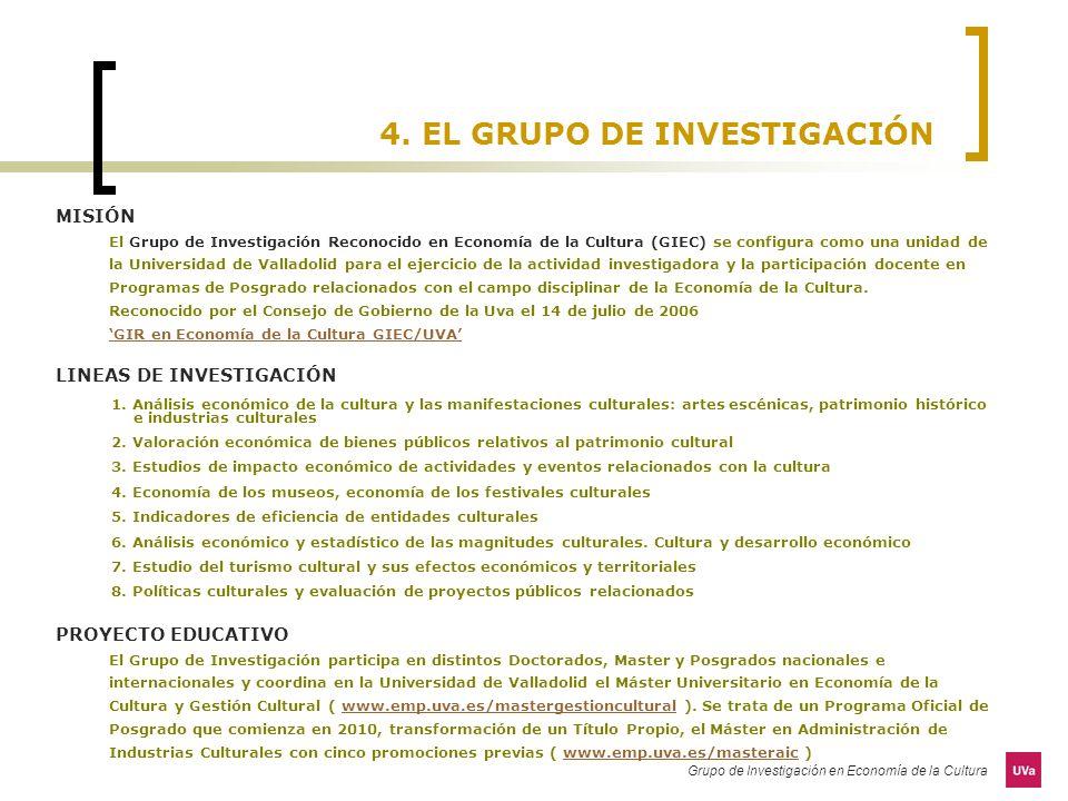 4. EL GRUPO DE INVESTIGACIÓN