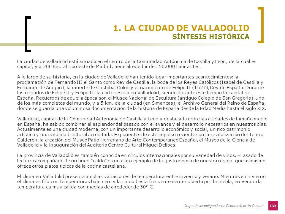 1. LA CIUDAD DE VALLADOLID SÍNTESIS HISTÓRICA