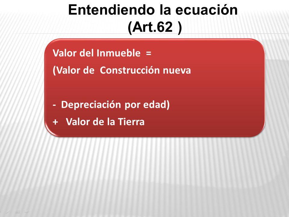 Entendiendo la ecuación (Art.62 )