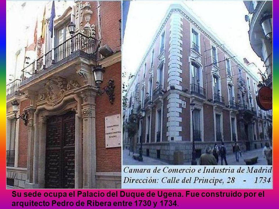 Su sede ocupa el Palacio del Duque de Ugena