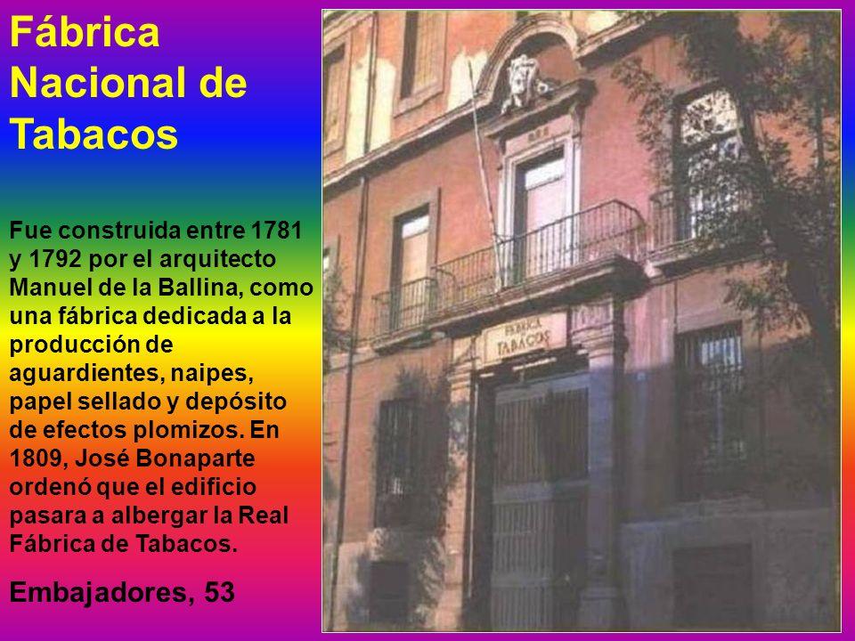 Fábrica Nacional de Tabacos