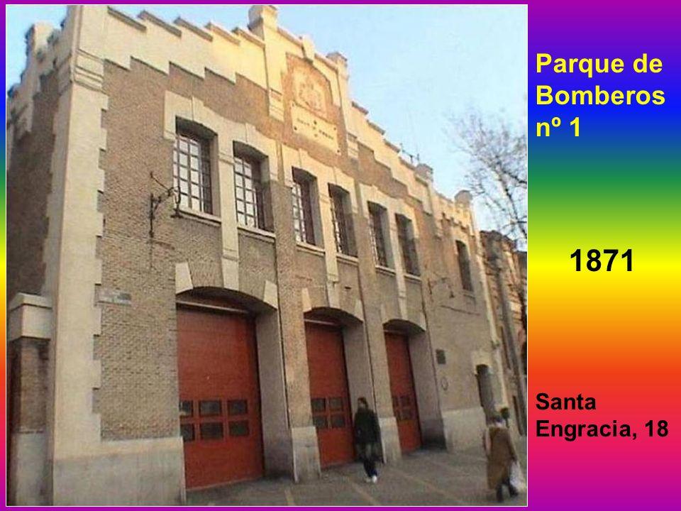 Parque de Bomberos nº 1 1871 Santa Engracia, 18