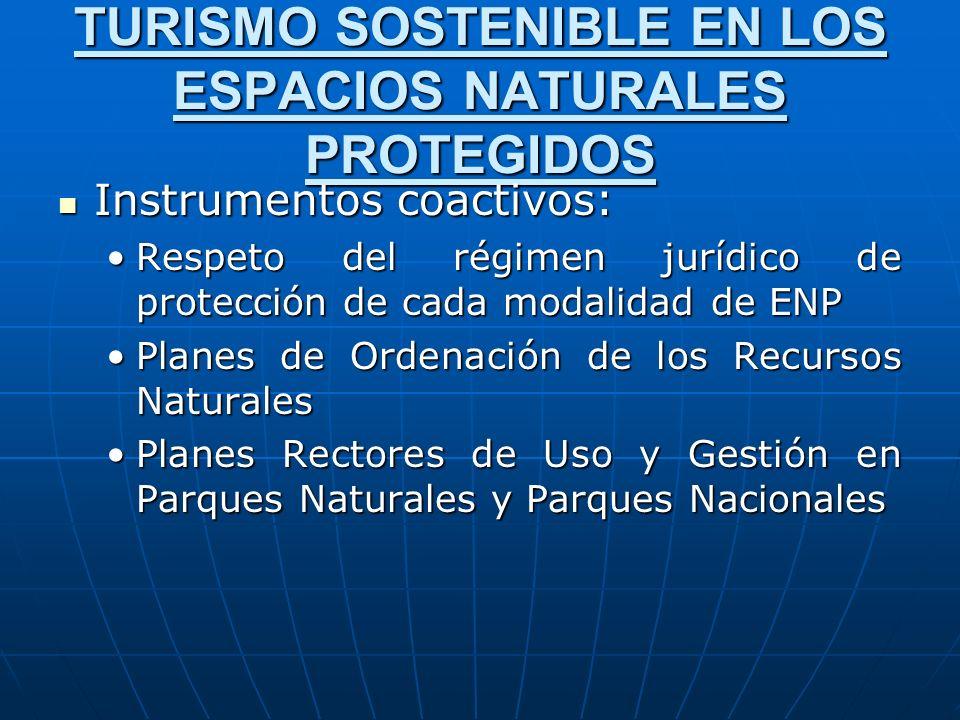 TURISMO SOSTENIBLE EN LOS ESPACIOS NATURALES PROTEGIDOS
