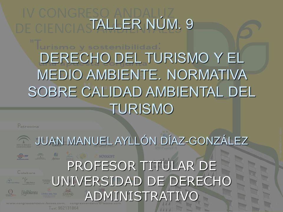PROFESOR TITULAR DE UNIVERSIDAD DE DERECHO ADMINISTRATIVO