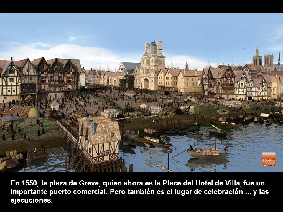 En 1550, la plaza de Greve, quien ahora es la Place del Hotel de Villa, fue un importante puerto comercial.
