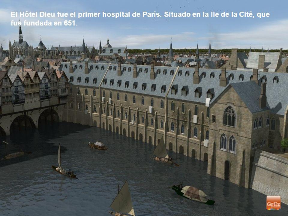 El Hôtel Dieu fue el primer hospital de París