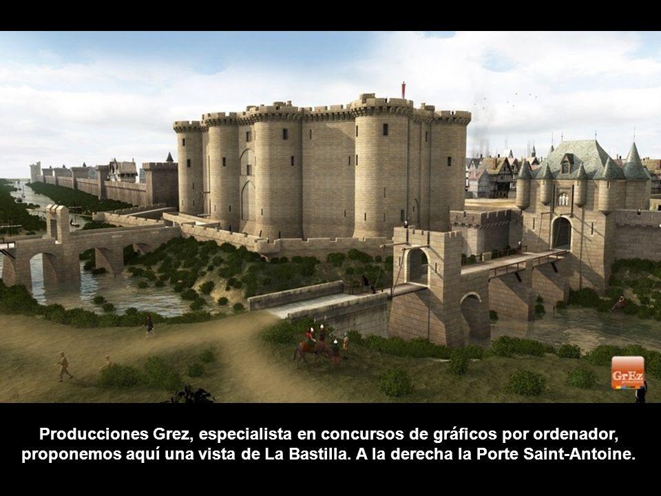 Producciones Grez, especialista en concursos de gráficos por ordenador, proponemos aquí una vista de La Bastilla.