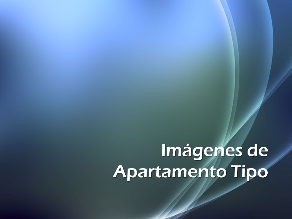 Imágenes de Apartamento Tipo