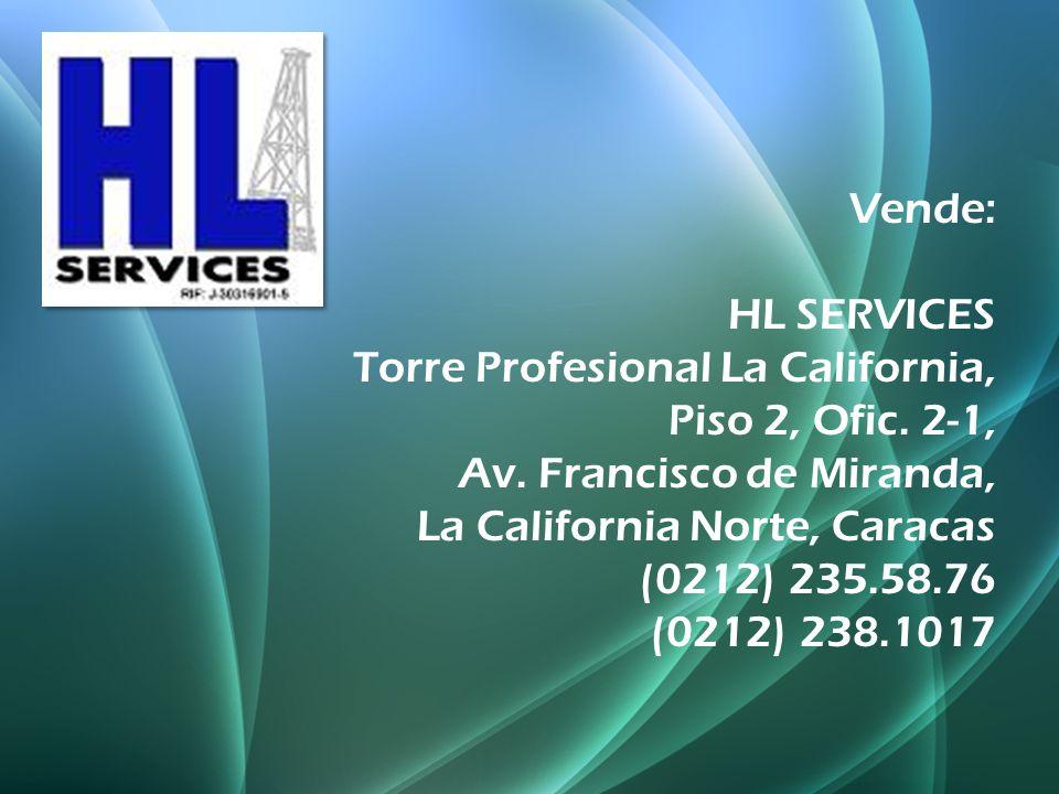 Vende: HL SERVICES Torre Profesional La California, Piso 2, Ofic