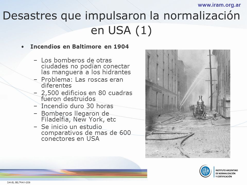 Desastres que impulsaron la normalización en USA (1)