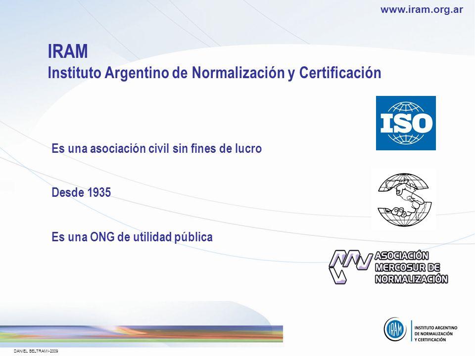 IRAM Instituto Argentino de Normalización y Certificación