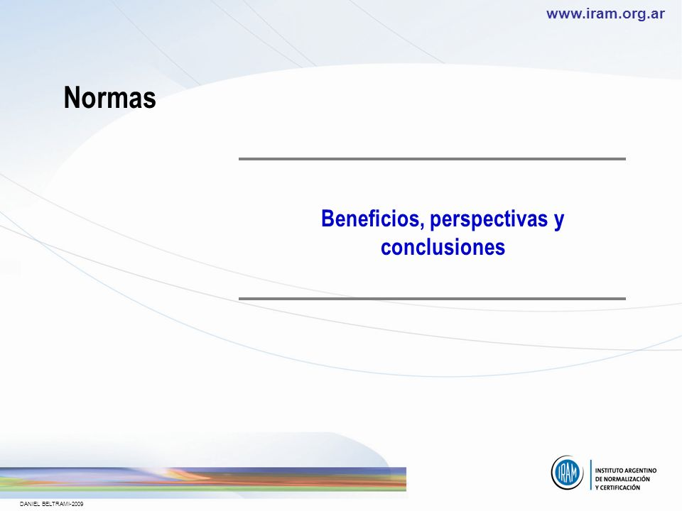 Beneficios, perspectivas y conclusiones