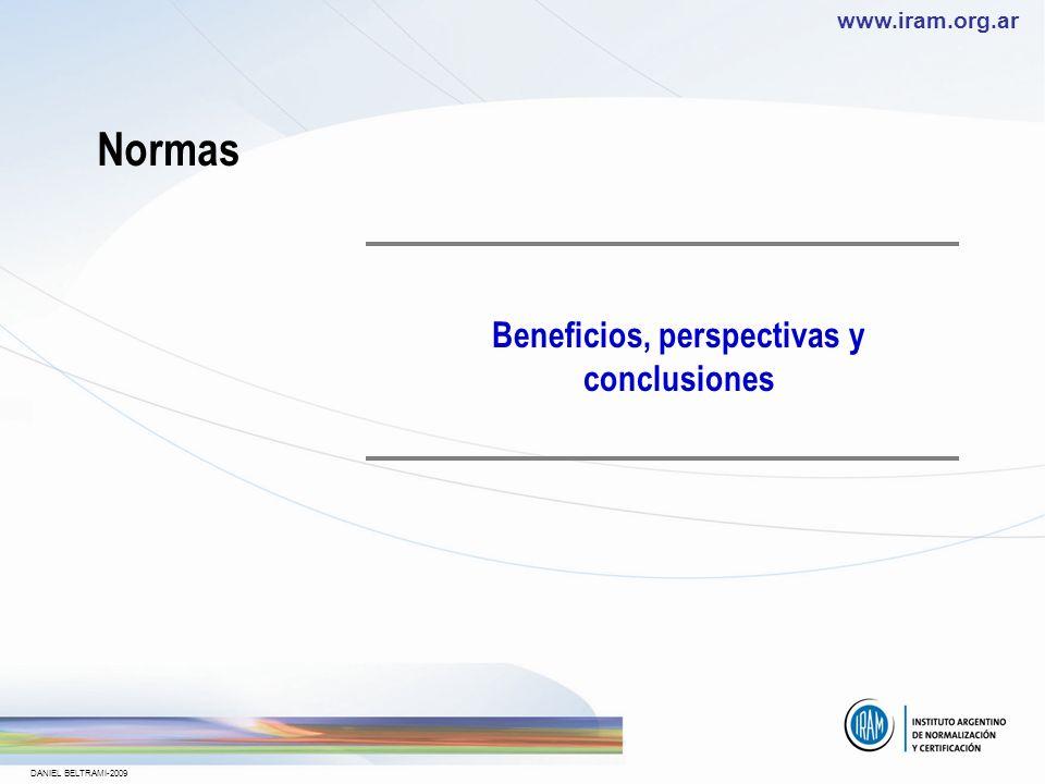 Beneficios, perspectivas y conclusiones