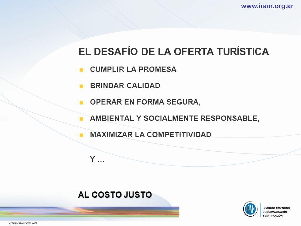 EL DESAFÍO DE LA OFERTA TURÍSTICA