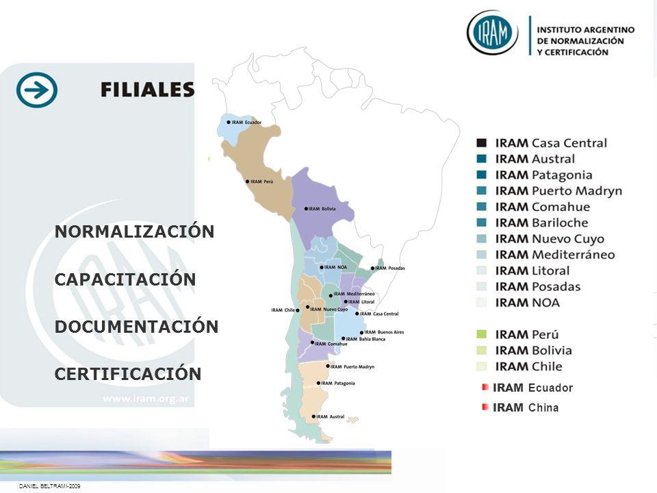 NORMALIZACIÓN CAPACITACIÓN DOCUMENTACIÓN CERTIFICACIÓN IRAM Ecuador