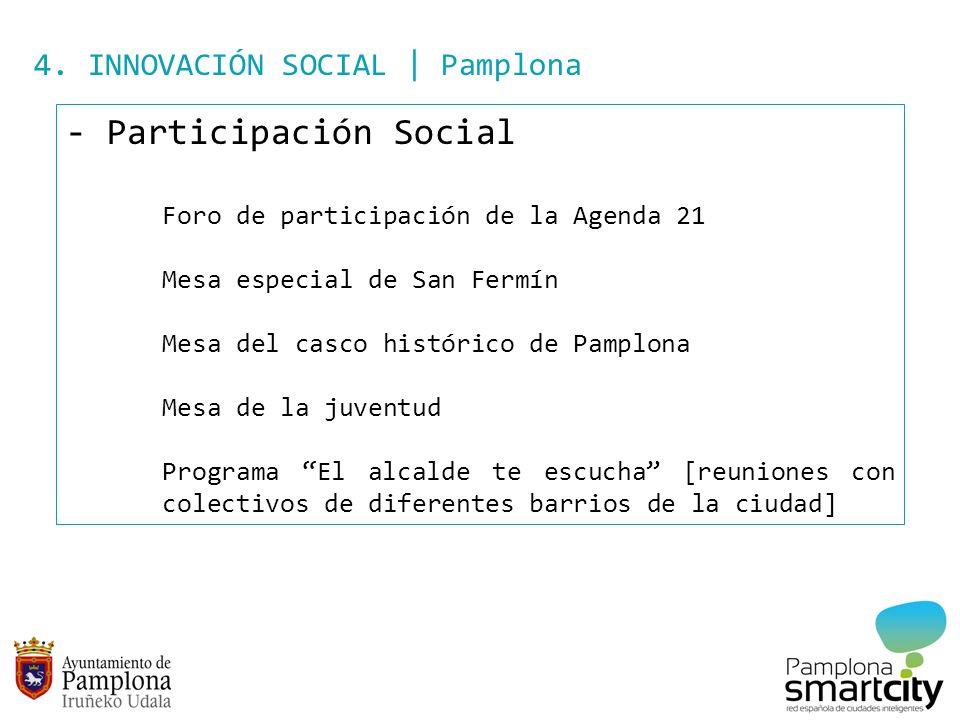 Participación Social 4. INNOVACIÓN SOCIAL | Pamplona