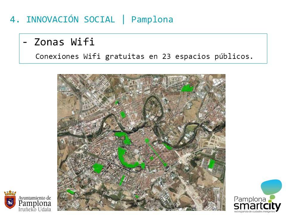 Zonas Wifi 4. INNOVACIÓN SOCIAL | Pamplona