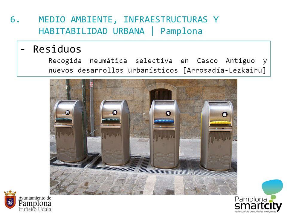 6. MEDIO AMBIENTE, INFRAESTRUCTURAS Y HABITABILIDAD URBANA | Pamplona