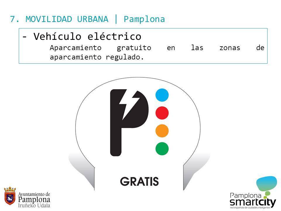 Vehículo eléctrico 7. MOVILIDAD URBANA | Pamplona