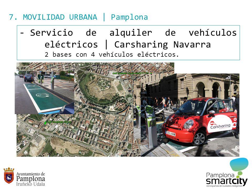 Servicio de alquiler de vehículos eléctricos | Carsharing Navarra